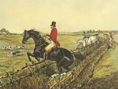 The English Hunt IV by Henry Alken
