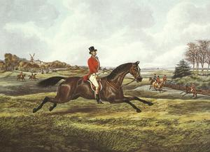 The English Hunt V by Henry Alken