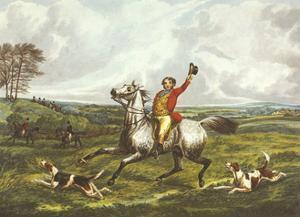 The English Hunt VI by Henry Alken