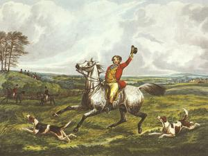 The English Hunt VI by Henry Alken