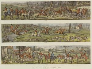 The Leicestershire Covers, 1820 by Henry Alken