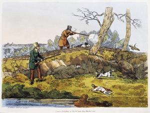 Woodcock Hunting, 1820 by Henry Alken