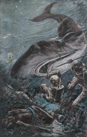 20,000 Leagues Under the Sea: Divers Attacked by a Shark
