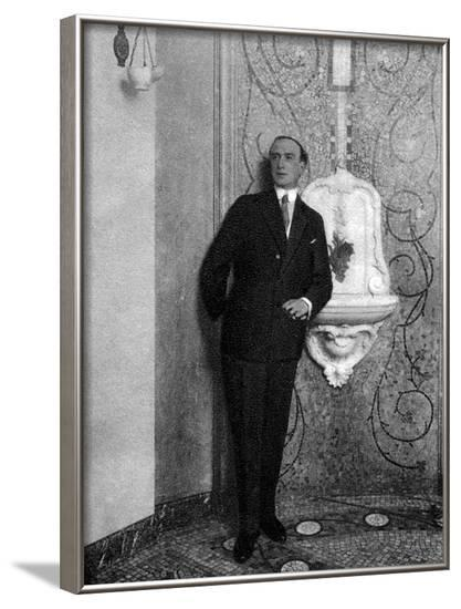 Henry Bataille Photo--Framed Photographic Print