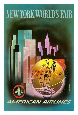 New York Worlds Fair 1964-1965 - American Airlines