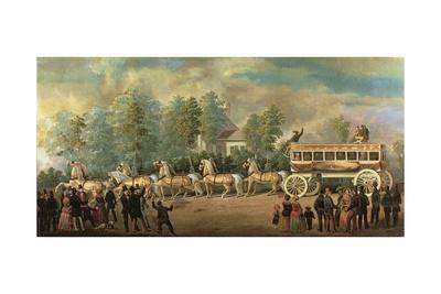 Coach 76 of the Knickerbocker Line, Brooklyn, C.1840-50