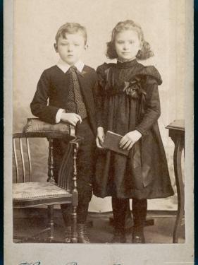 Children's Dress 1890s by Henry Bonn