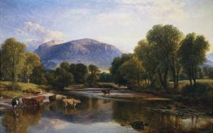 Reflections of a Highland Landscape, Scotland by Henry Brittan Willis
