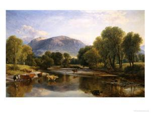 Reflections of a Highland Landscape by Henry Brittan Willis