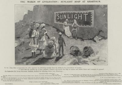 Advertisement, Sunlight Soap by Henry Charles Seppings Wright