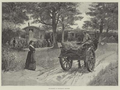 Encampment of Travelling Showmen by Henry Charles Seppings Wright