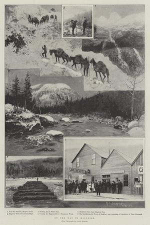 On the Way to Klondike by Henry Charles Seppings Wright