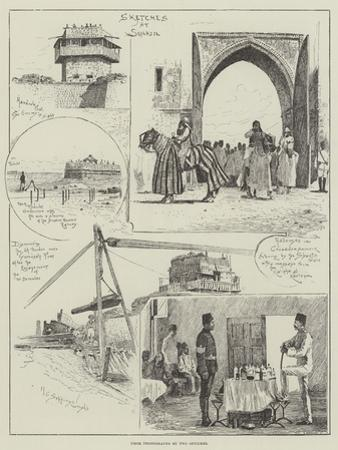 Sketches at Suakin by Henry Charles Seppings Wright