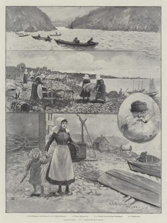 Sketches in Newfoundland by Henry Charles Seppings Wright