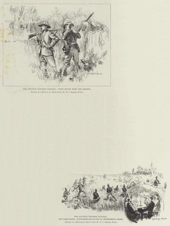 Sketches of the Mahdist War by Henry Charles Seppings Wright