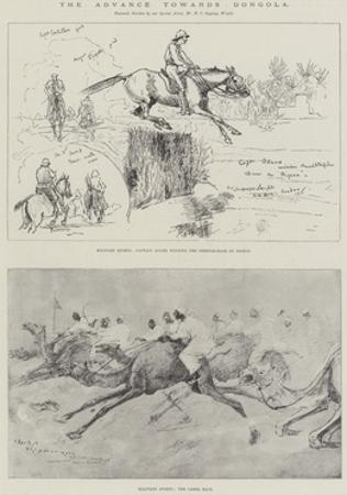 The Advance Towards Dongola by Henry Charles Seppings Wright