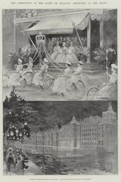 The Coronation of the Queen of Holland, Rejoicings at the Hague by Henry Charles Seppings Wright