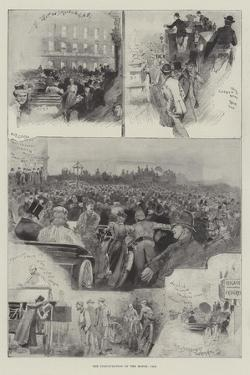 The Inauguration of the Motor-Car by Henry Charles Seppings Wright