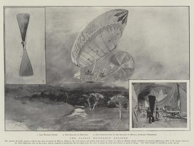 The Latest Navigable Balloon by Henry Charles Seppings Wright