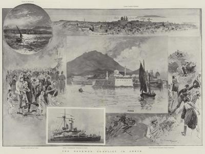 The Renewed Conflict in Crete by Henry Charles Seppings Wright