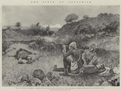 The Siege of Ladysmith by Henry Charles Seppings Wright