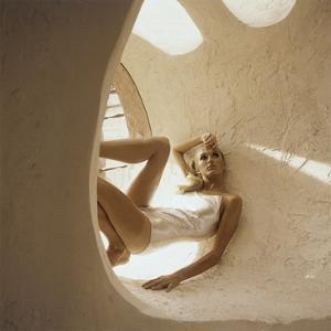 Vogue - January 1966 - Robert Sloan Silver Swimsuit by Henry Clarke