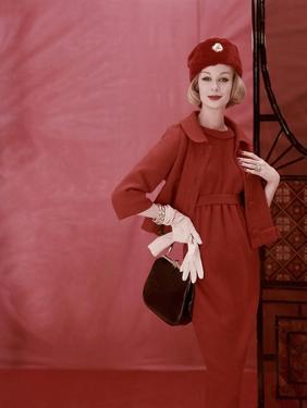 Vogue - September 1958 by Henry Clarke
