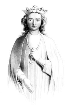 Eleanor of Castile (1241-129), 1851 by Henry Colburn