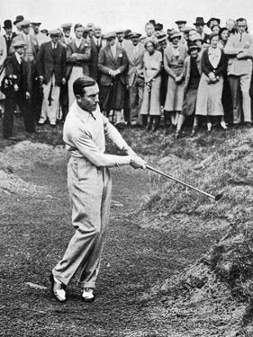 Henry Cotton, American Golfer August 1934