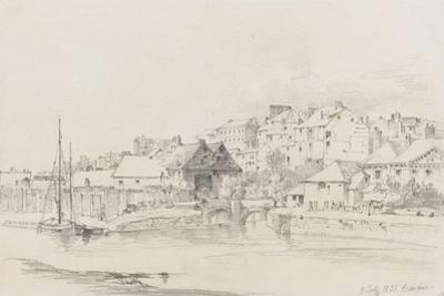 Exeter Custom House and Quay, 1831