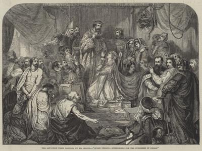 Queen Philippa Interceding for the Burgesses of Calais