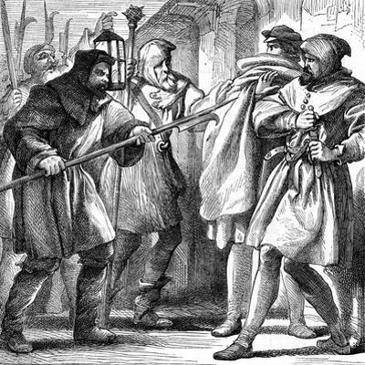 Scene from Shakespeare's Much Ado About Nothing, 1870