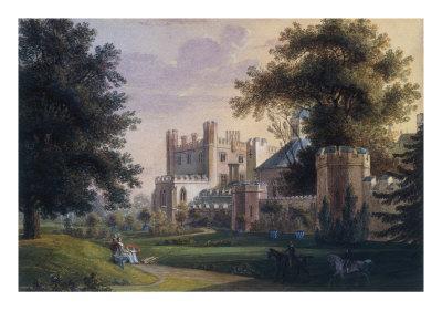 View of Cassiobury House, Hertfordshire