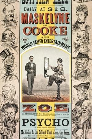 Maskelyne and Cooke's Entertainment at the Egyptian Hall by Henry Evanion