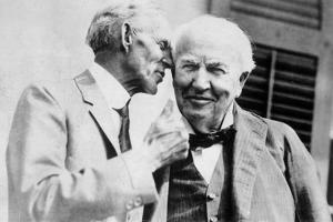 Henry Ford Talking to Thomas Edison