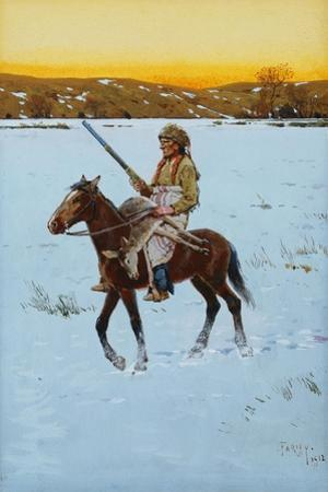 Indian Returning from the Hunt, 1912