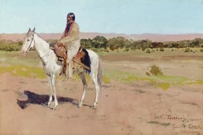 Tashkoniy (Herder), Cache Creek, Oklahoma