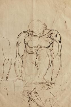 Aufsteigender by Henry Fuseli