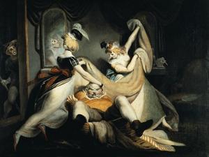 Falstaff in the Laundry Basket, 1792 by Henry Fuseli
