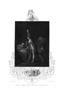 Henry Beaufort Deathbed by Henry Fuseli