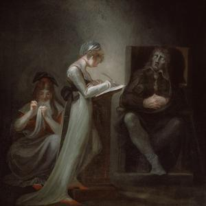 Milton Dictating to His Daughter, 1794 by Henry Fuseli