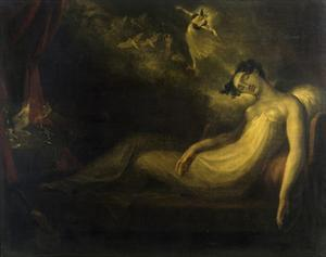Queen Mab, 1814 (Romeo and Juliet) by Henry Fuseli