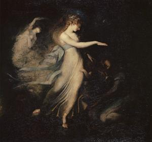 The Fairy Queen Appears to Prince Arthur, 1785-88 by Henry Fuseli