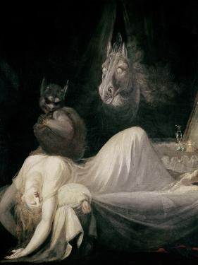 The Nightmare, c.1781 by Henry Fuseli