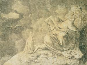 The Witch and the Mandrake, 18th Century by Henry Fuseli