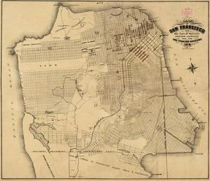 San Francisco, California, c.1873 by Henry G. Langley