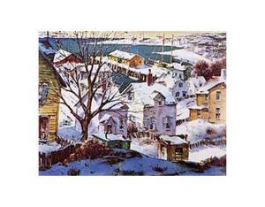 Winter Harbor by Henry Gasser