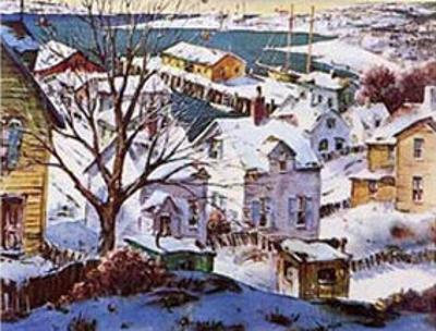 Winter Harbor by Henry Gasser
