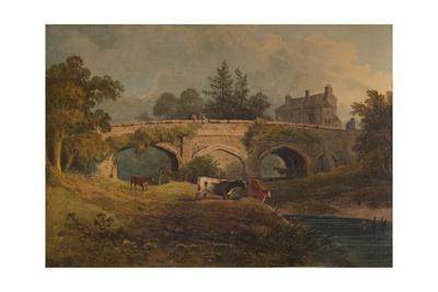 'Eltham Bridge, Kent', 19th century, (1935)