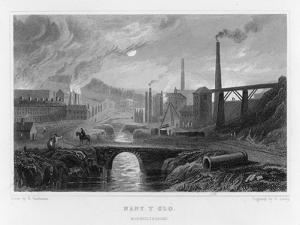 Ironworks at Nant-Y-Glo Wales by Henry Gastineau